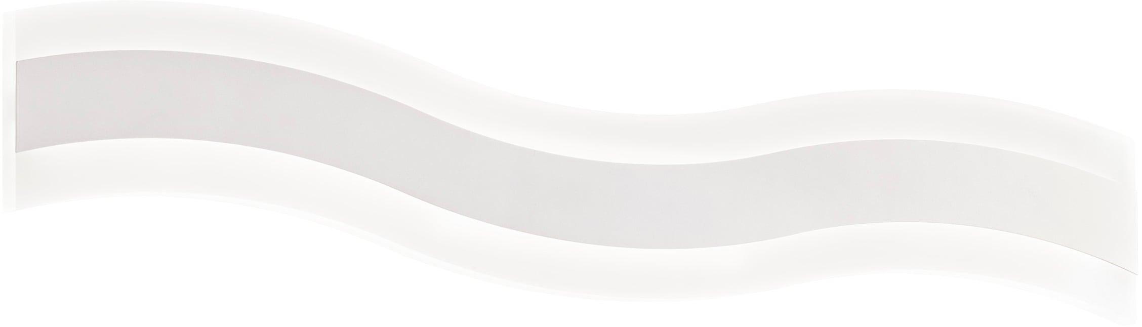 WOFI LED Wandleuchte Dini, LED-Board, Warmweiß