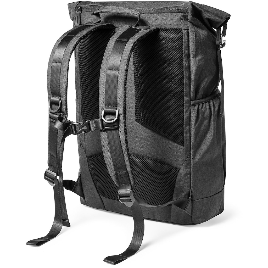 EPIC Laptoprucksack »Dynamic Rolltop City Backpack, Black«
