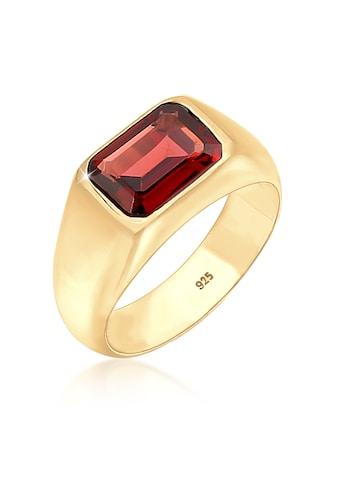 Elli Fingerring »Siegelring Edelstein Trend Statement 925 Silber« kaufen