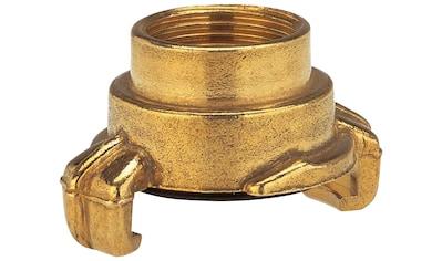 GARDENA Schnellkupplung »07108 - 20«, Messing mit Innengewinde 26,5 mm (G - 3/4) kaufen