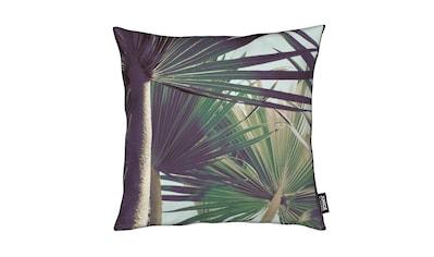 Juniqe Dekokissen »Palm I«, Weiches, allergikerfreundliches Material kaufen