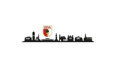 Wall-Art Wandtattoo »FC Augsburg Skyline mit Logo« kaufen