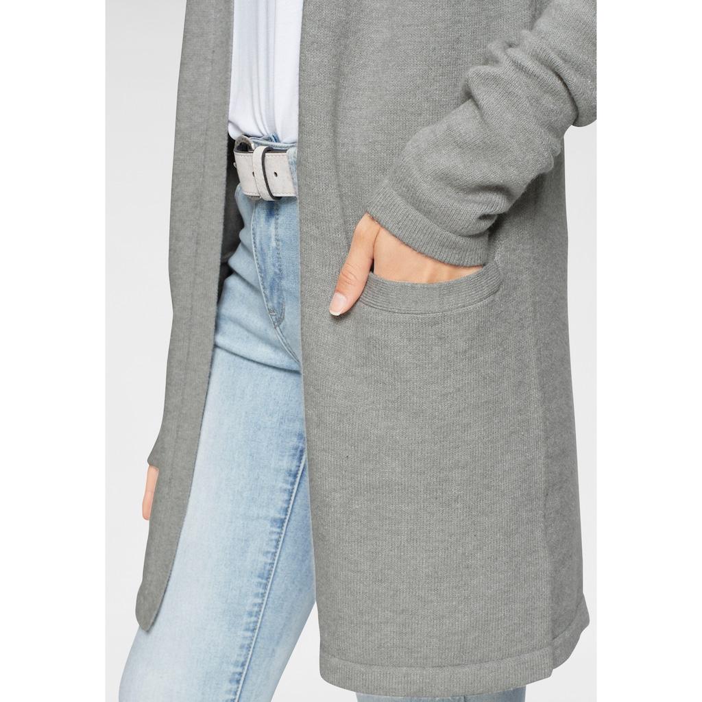 Tamaris Cardigan, mit Taschen