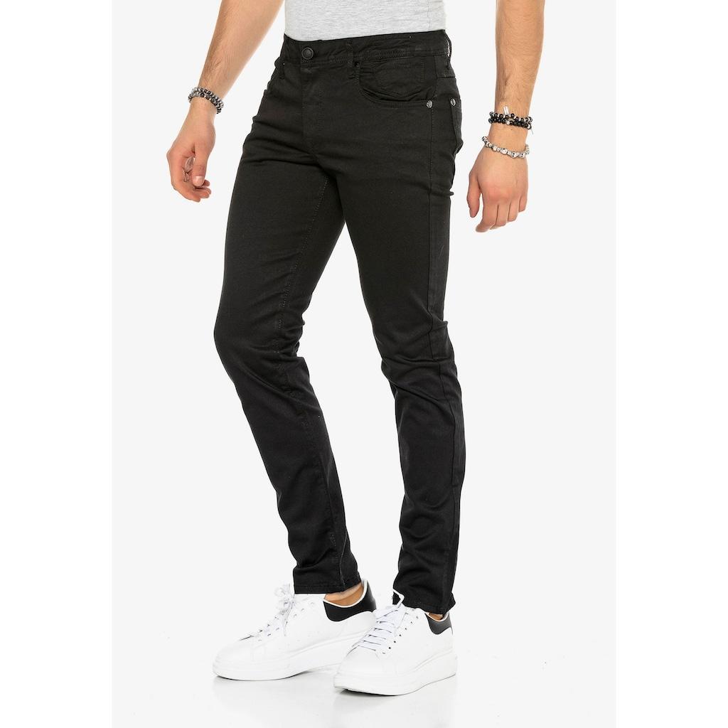 Cipo & Baxx Slim-fit-Jeans, mit Slim Fit-Schnitt