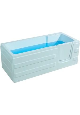 Sanotechnik Badewanne »Paros«, mit Tür kaufen