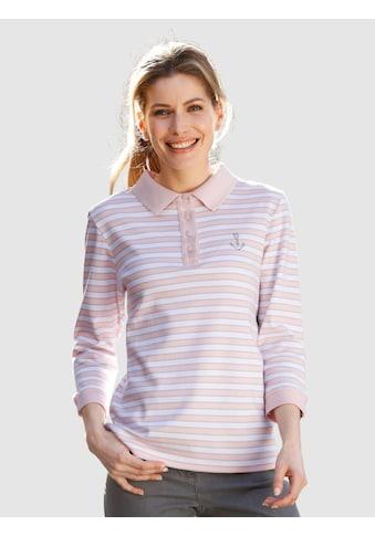 Dress In Poloshirt, in Streifenoptik kaufen