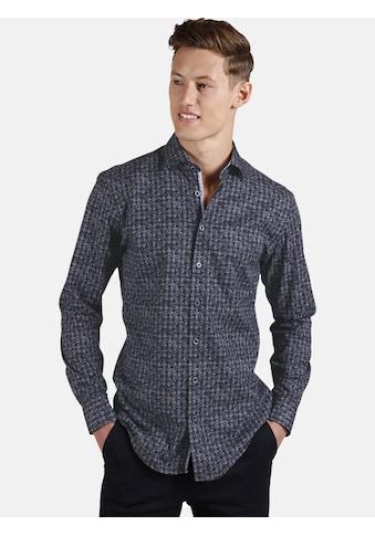 SHIRTMASTER Langarmhemd »oneworldpattern«, mit aktuellem Ethno-Muster kaufen