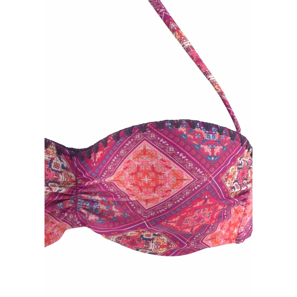 Buffalo Bügel-Bandeau-Bikini, im Boho-Stil