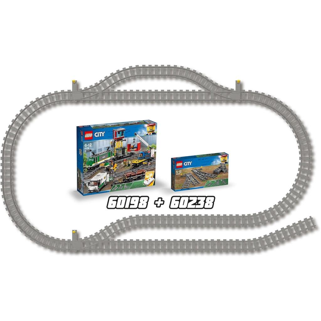 LEGO® Konstruktionsspielsteine »Switch Tracks (60238), LEGO® City«, (6 St.), Made in Europe