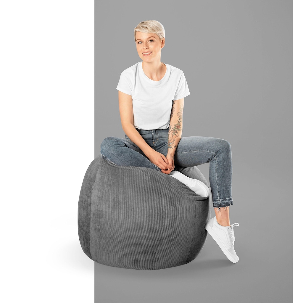 Sitting Point Sitzsack »BeanBag Cordone XL«, Kord