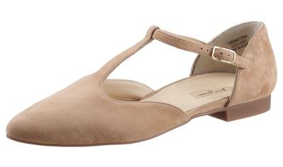 Paul Green T-Strap-Ballerina, in spitzer Form kaufen