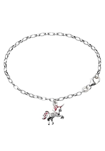 Firetti Armband »Einhorn, glänzend, massiv«, mit Zirkonia und Lack kaufen