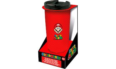 """Coffee - to - go - Becher """"Super Mario Thermo Reisebecher Edelstahl (425 ml)"""" kaufen"""