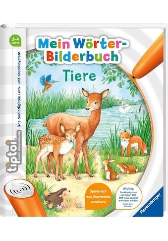 """Ravensburger Buch """"tiptoi® Mein Wörter - Bilderbuch Tiere"""" kaufen"""