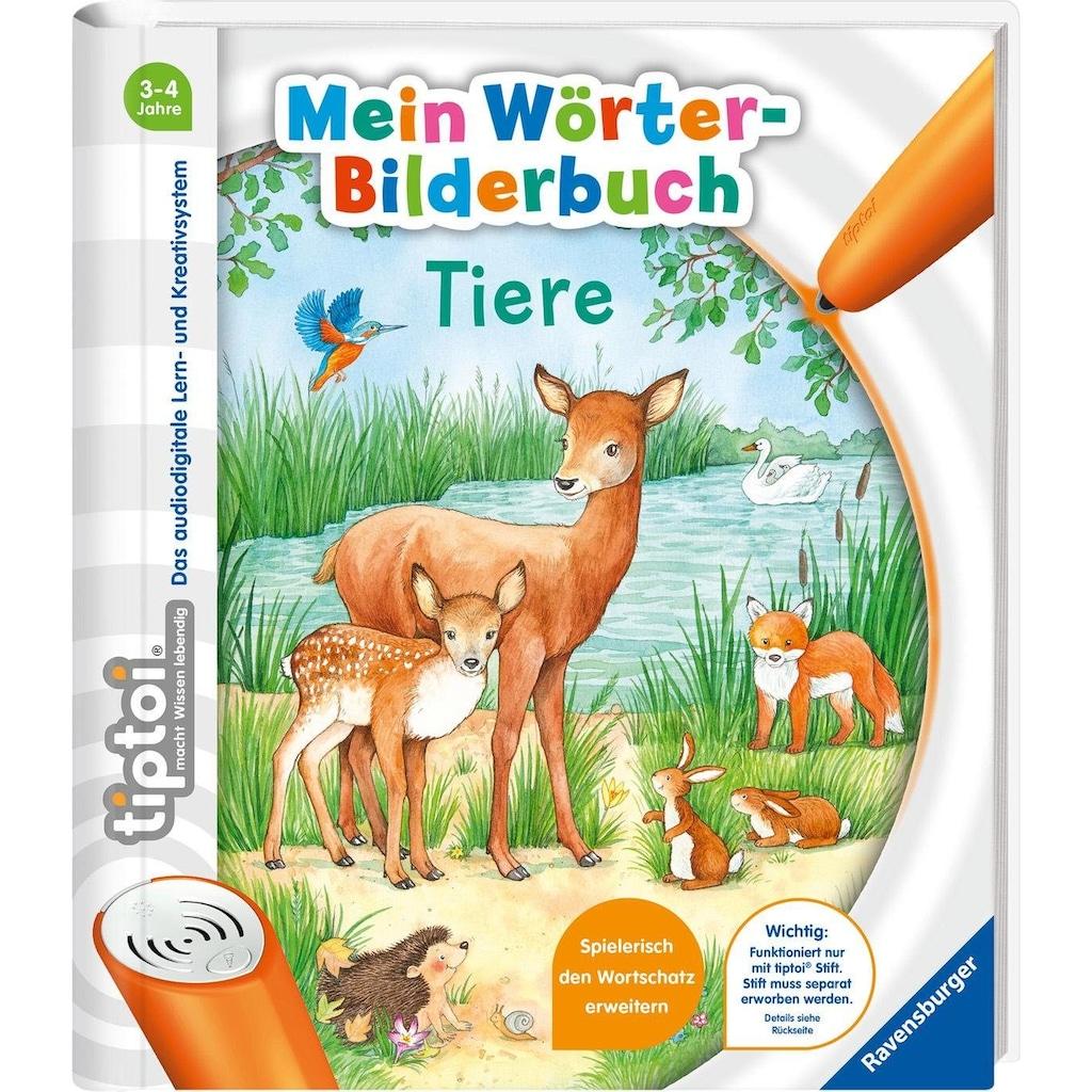 Ravensburger Buch »tiptoi® Mein Wörter-Bilderbuch Tiere«, Made in Europe