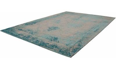 Kayoom Teppich »Nostalgia 285«, rechteckig, 10 mm Höhe, Flachgewebe, Vintage Design, Wohnzimmer kaufen