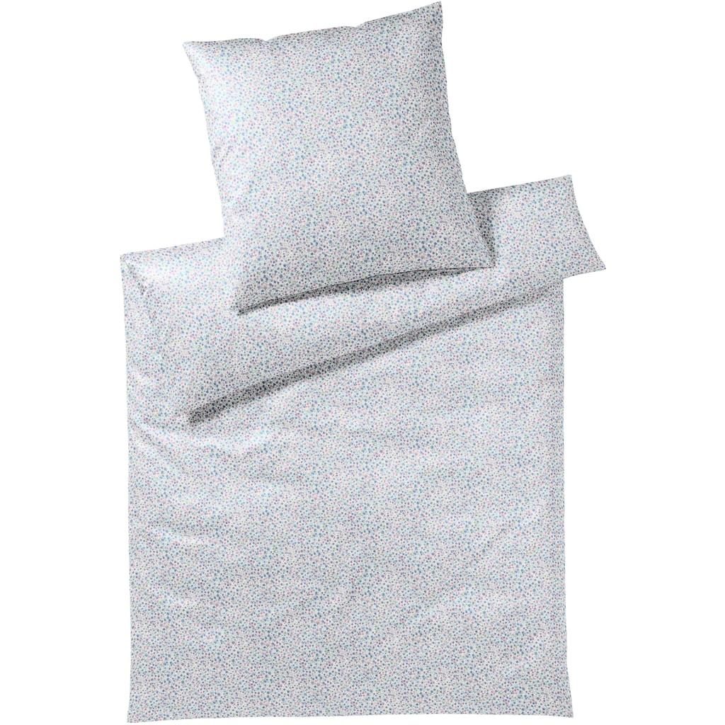 Elegante Bettwäsche »Träumerei«, mit kleinen Blüten