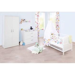 Pinolino Babyzimmer Set (3 Tlg) Kinderzimmer, »Viktoria Breit«