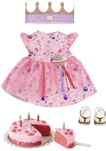 Baby Born Puppenkleidung »Deluxe Happy Birthday«, (Set, 4 tlg.) kaufen