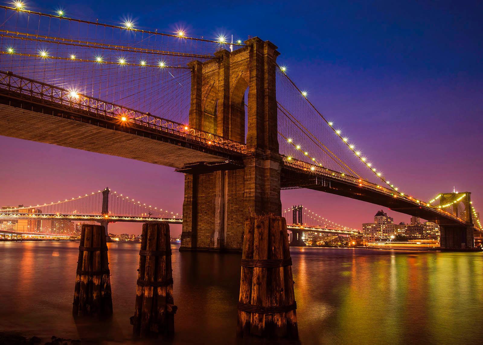 Giclee Fine Art »Brooklyn Bridge« 140/100 cm