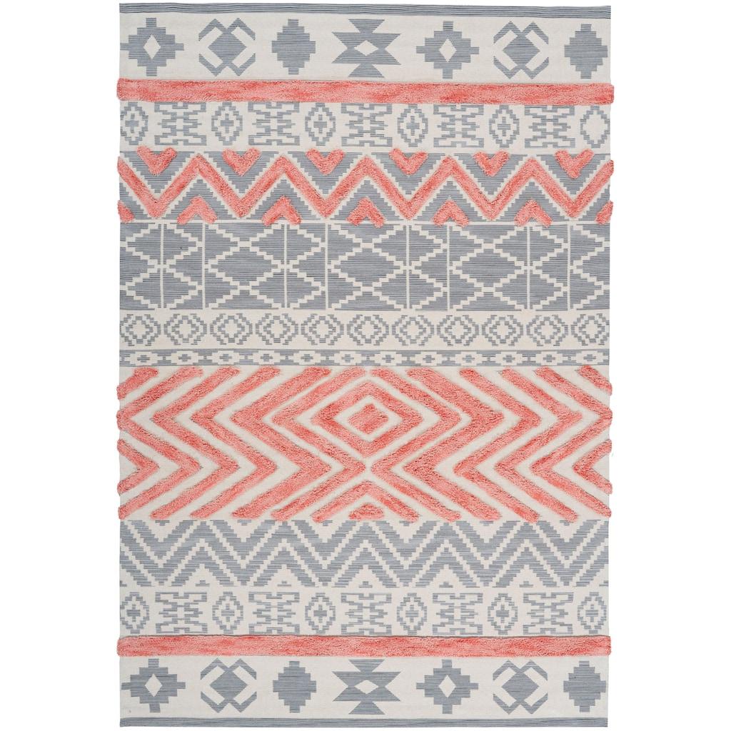 Arte Espina Teppich »Ethnie 100«, rechteckig, 10 mm Höhe, Wohnzimmer