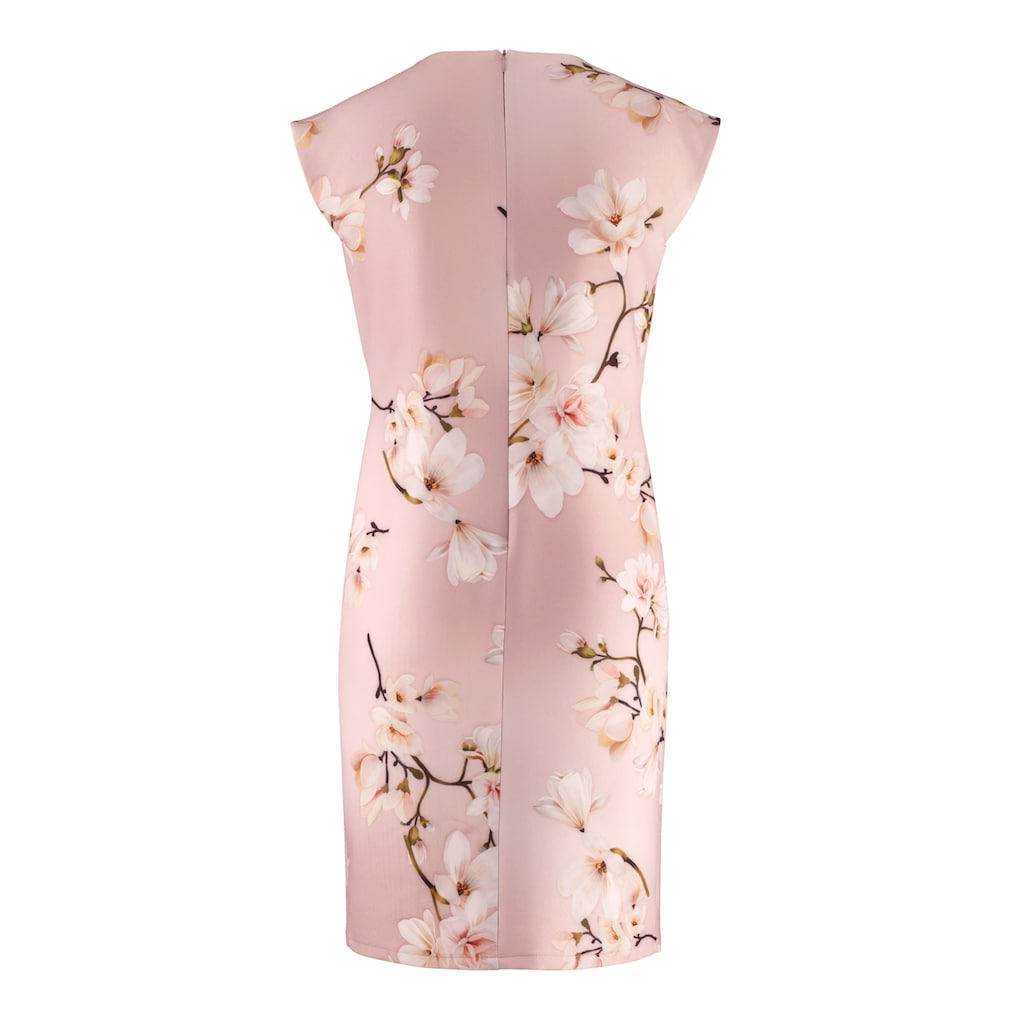 Alba Moda Kleid allover im floralen Dessin