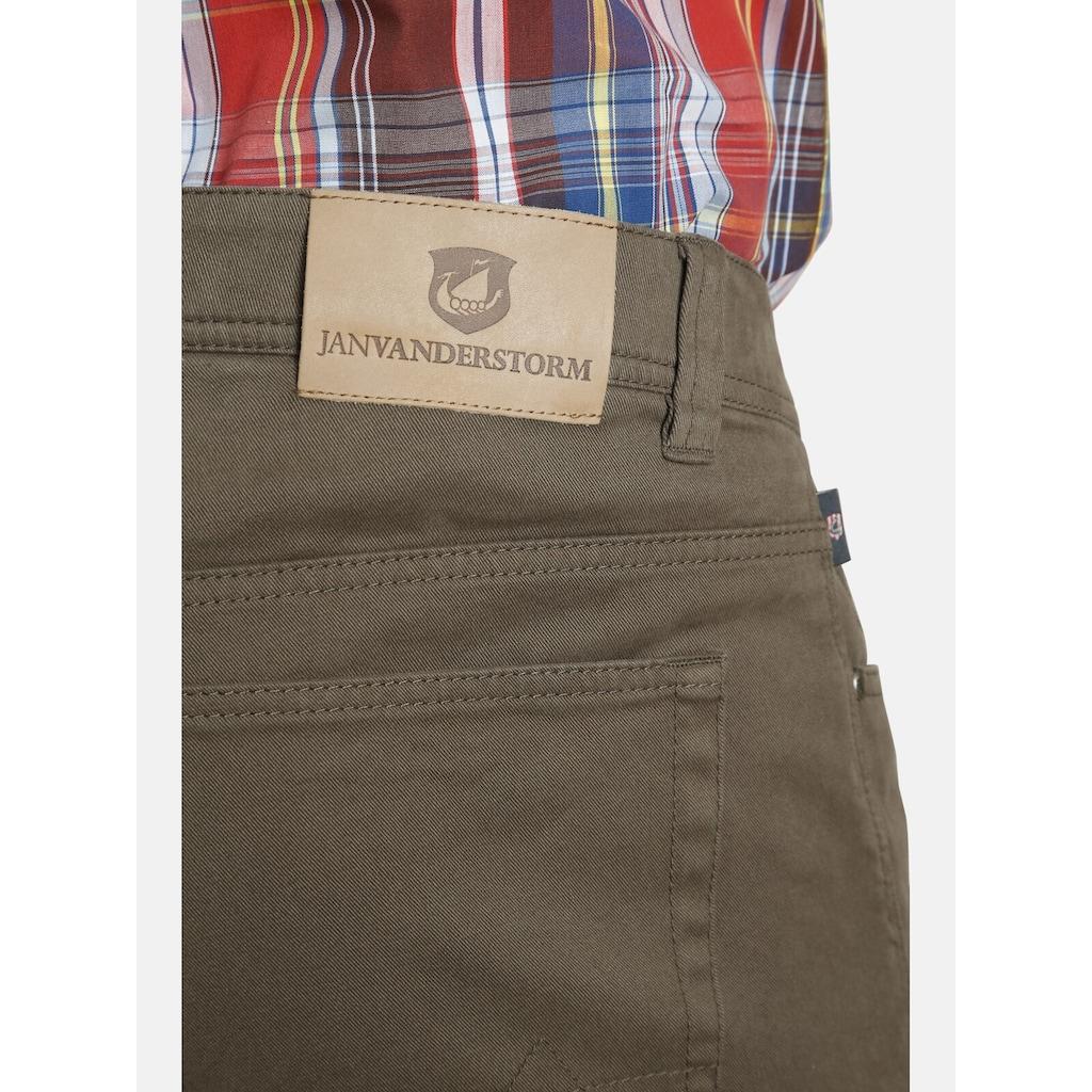 Jan Vanderstorm 5-Pocket-Hose »FALENTIN«, mit bequemen Tiefbund