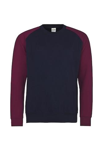 AWDIS Nickijacke »Herren Baseball Sweatshirt, zweifarbig« kaufen