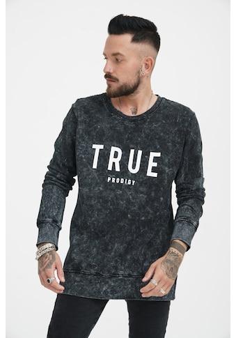 trueprodigy Sweatshirt »Curt«, mit Logodruck im Vintage Look kaufen