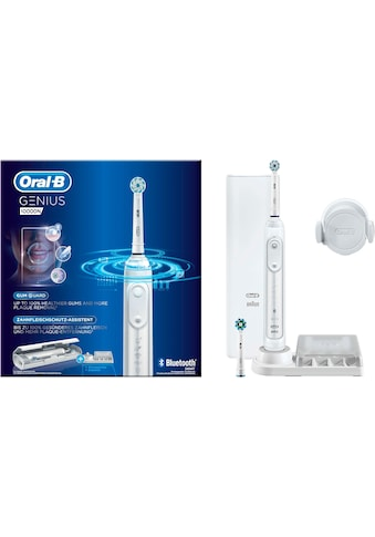 Oral B Elektrische Zahnbürste Genius 10000N, Aufsteckbürsten: 2 Stk. kaufen