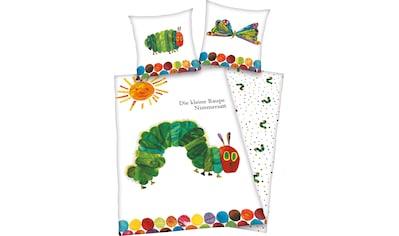 Kinderbettwäsche »Die kleine Raupe Nimmersatt«, kaufen
