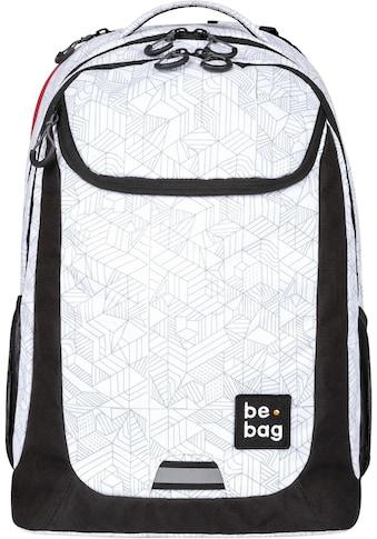 Pelikan Schulrucksack »be.bag be.active, Block by Block«, Reflektionsnähte-reflektierende Streifen auf den Schultergurten kaufen