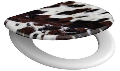 SCHÜTTE WC - Sitz »Cow Skin«, mit Absenkautomatik kaufen