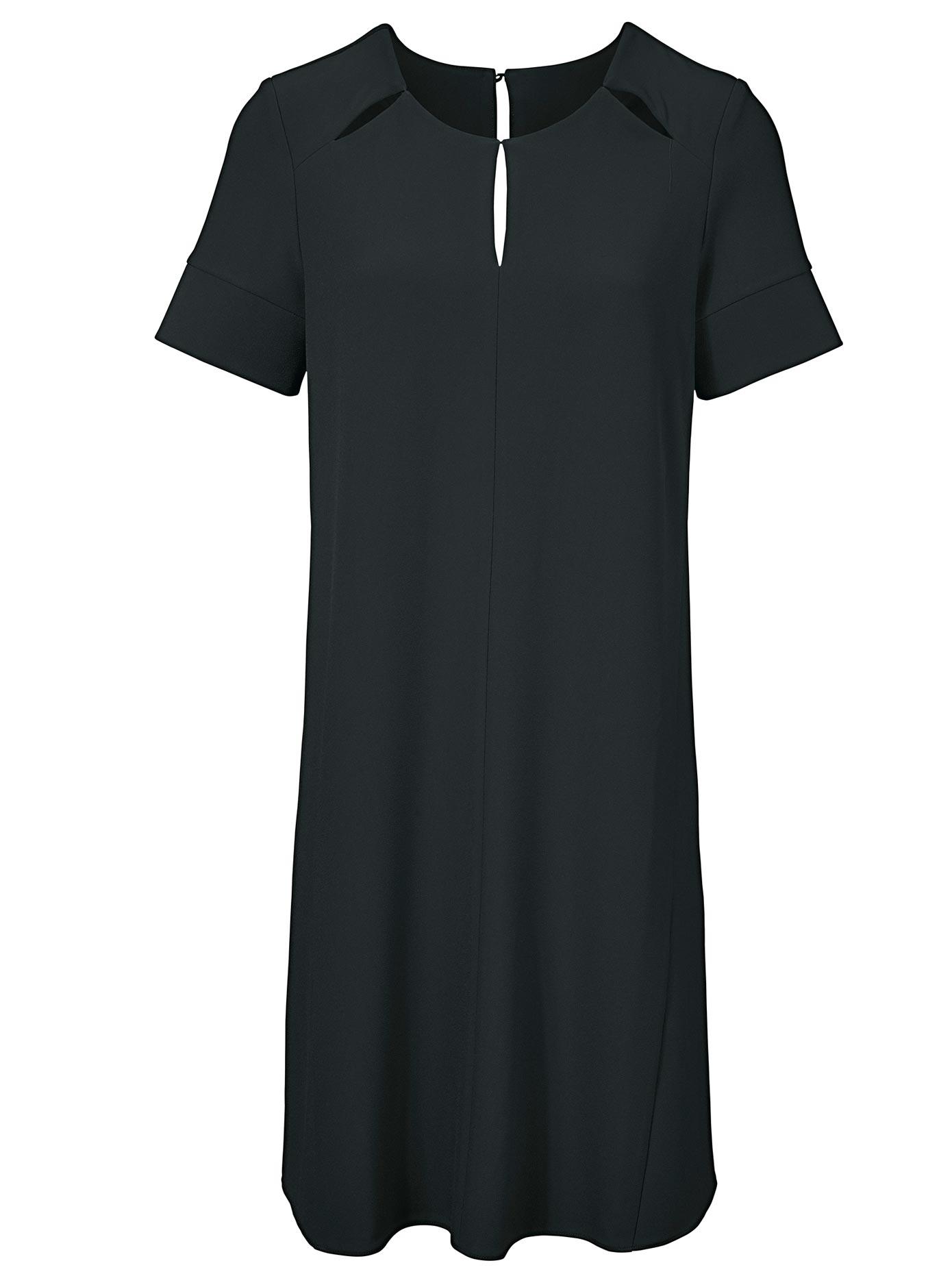 création L Kleid mit raffinierten Schlitzen