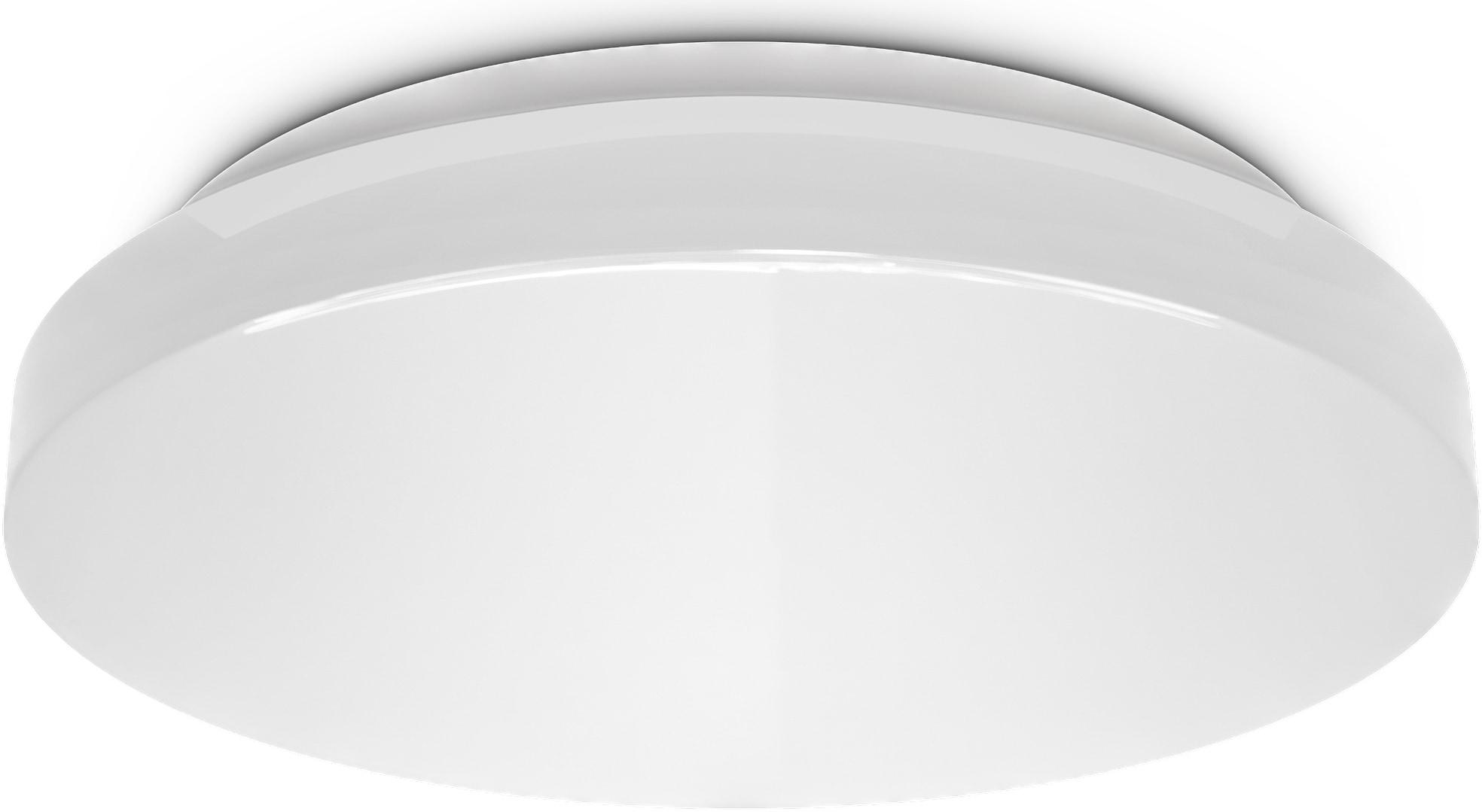 B.K.Licht LED Deckenleuchte, LED-Modul, Neutralweiß, LED Deckenlampe Bad inkl. 18 Watt LED Modul 1800lm 4000K flach IP44 weiß