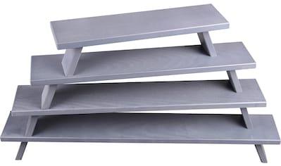 Weigla Schwibbogen-Fensterbank, 1 tlg., FSC®-zertifiziertes Buchenholz, Tiefe ca. 7,5 cm kaufen