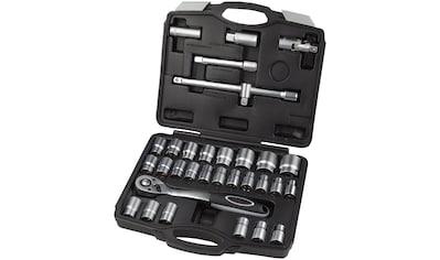 WGB BASIC PLUS Steckschlüsselsatz 32 - tlg. Steckschlüssel - Garnitur, im Kunststoffkoffer kaufen