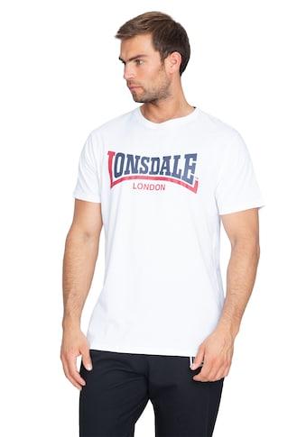 Lonsdale T-Shirt »CREATON«, mit großem Frontdruck kaufen