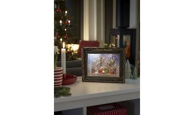 KONSTSMIDE LED Bilderrahmen mit Krippe kaufen