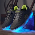 Kappa Sneaker »RENDON KIDS«, mit farbigen Leuchtelementen in der Sohle<br />