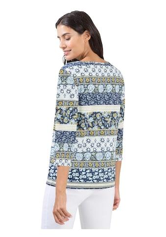 Shirt mit floralem Druckmuster kaufen