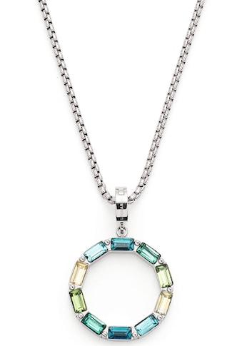 LEONARDO Kette mit Einhänger »Grafica, 021371«, mit Kristallglas kaufen
