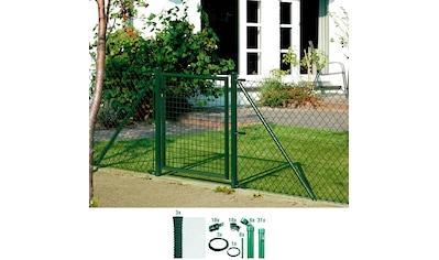 GAH Alberts Maschendrahtzaun, 80 cm hoch, 75 m, grün beschichtet, zum Einbetonieren kaufen