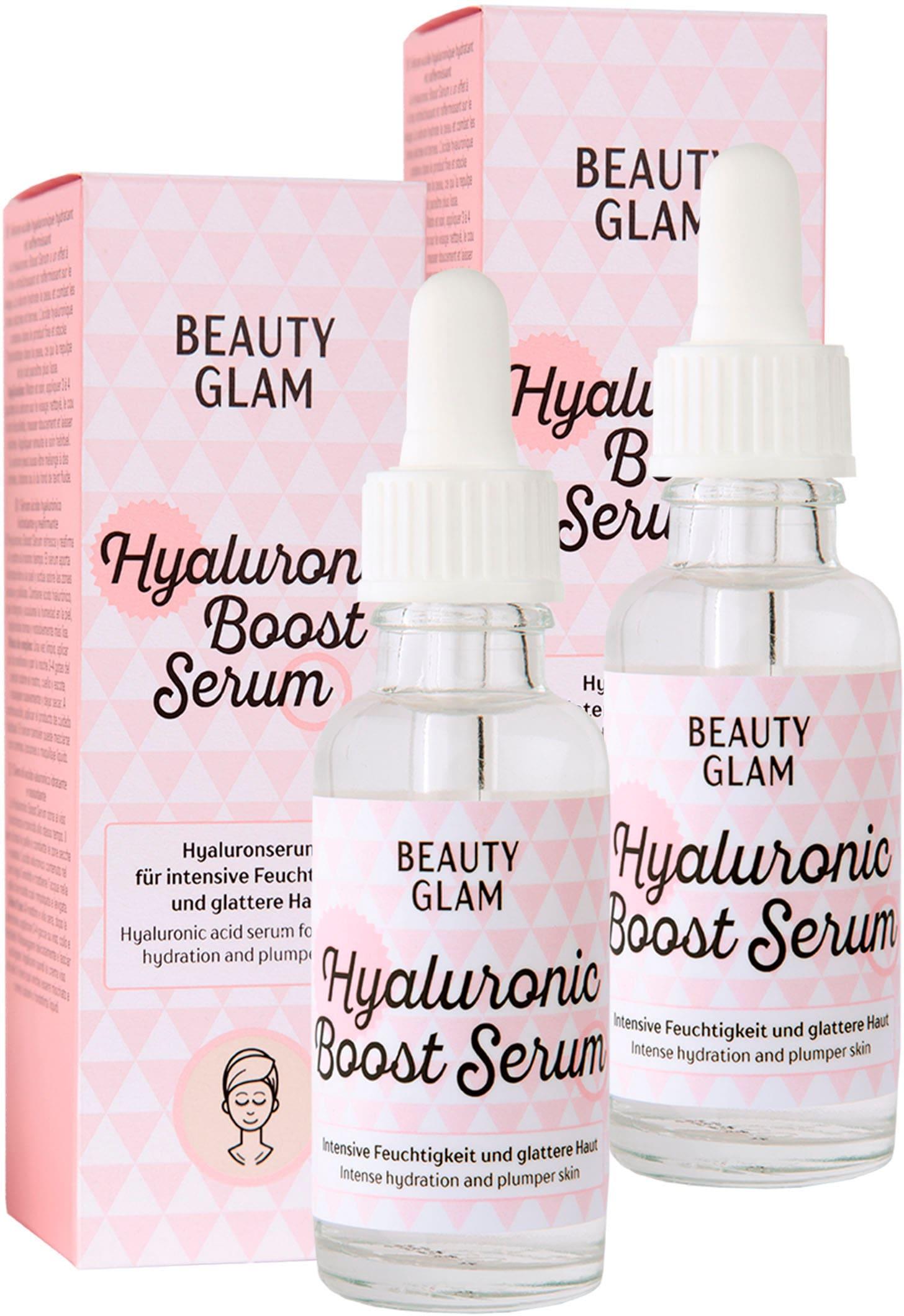 beauty glam -  Gesichtspflege-Set Hyaluronic Boost Serum, (2 tlg.)