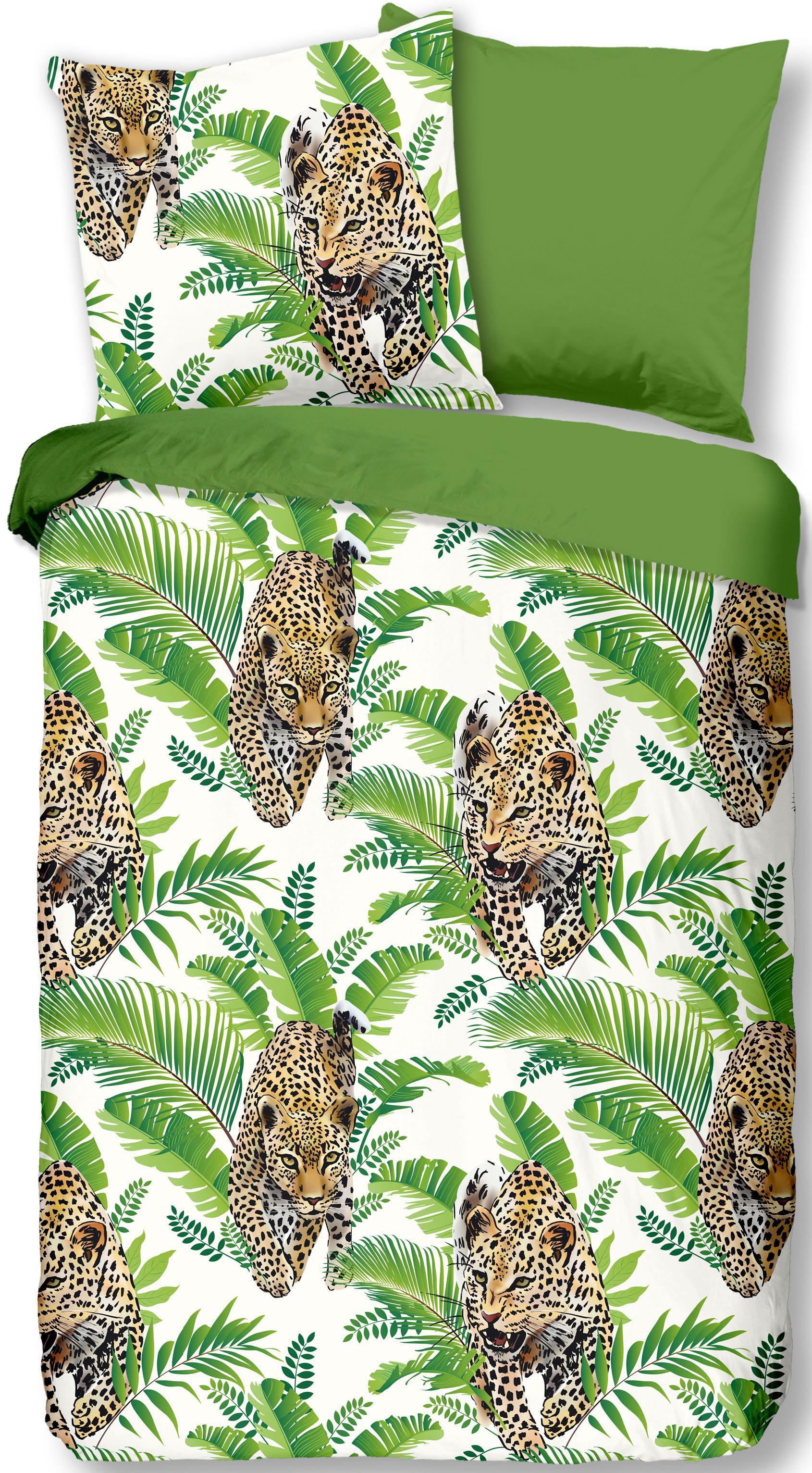 Wendebettwäsche Jungle good morning