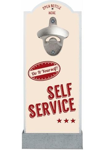 Contento Flaschenöffner »Self Service«, für die Wand kaufen