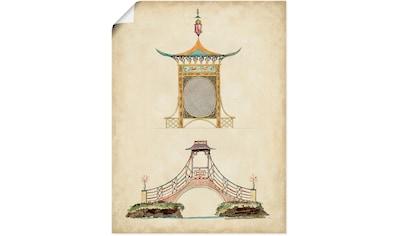 Artland Wandbild »Gartentore III«, Architektonische Elemente, (1 St.), in vielen... kaufen