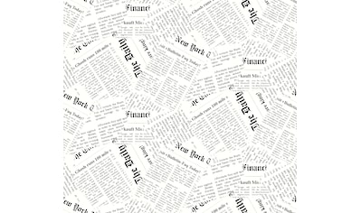 DELAVITA Plissee nach Maß »Newspaper«, Lichtschutz, mit Bohren, verspannt,... kaufen