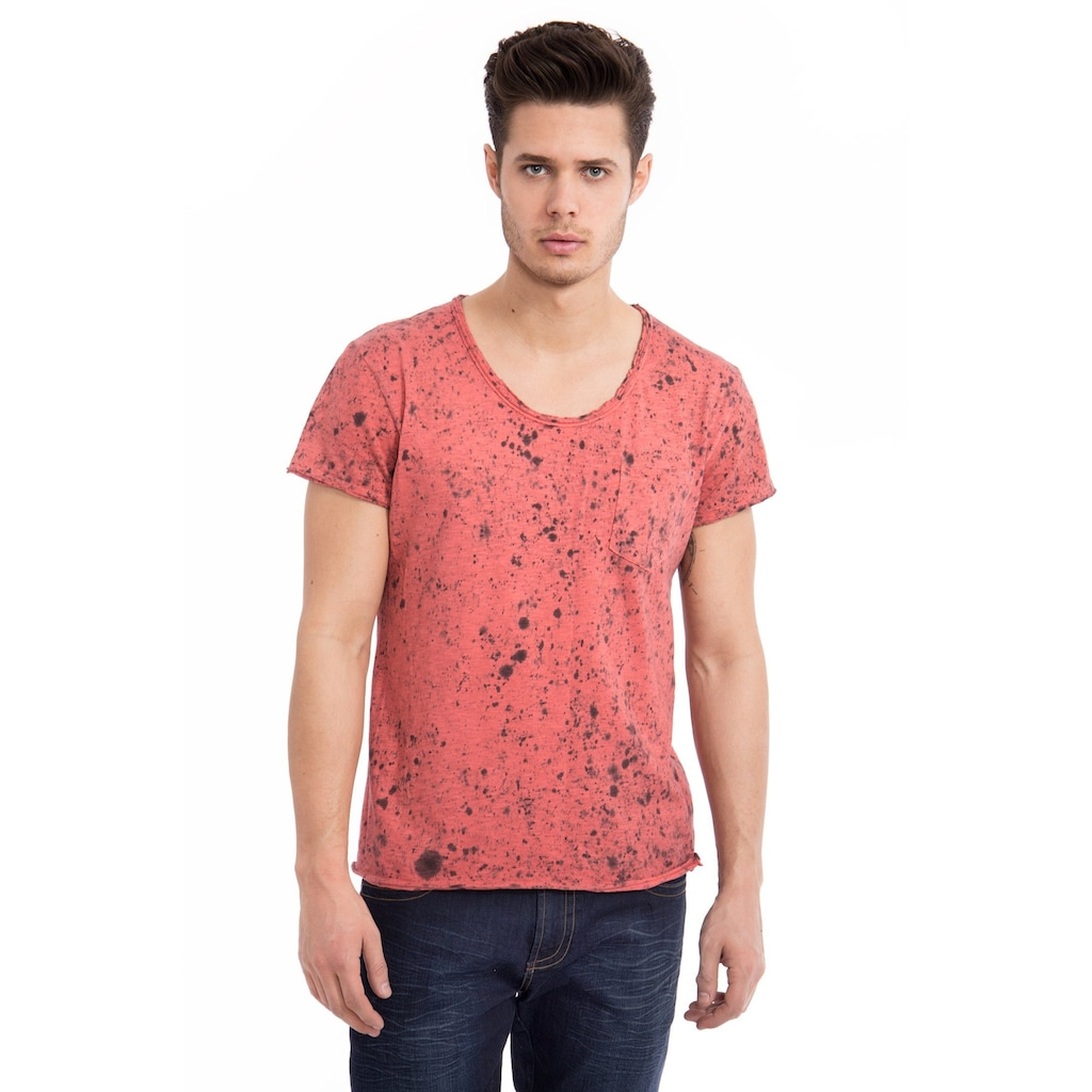 Way of Glory T-Shirt, Round neck Cool Wash with Dots