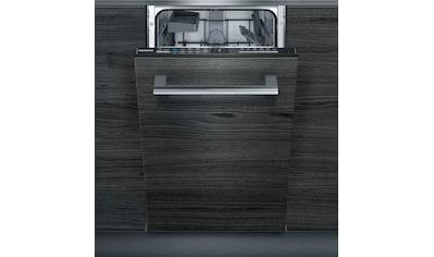SIEMENS integrierbarer Geschirrspüler iQ100, 9,5 Liter, 9 Maßgedecke kaufen